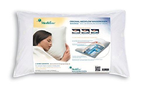 Mediflow Waterbase Fibrefill Pillow, Travel Size