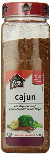 Club House Cajun Seasoning One Step, 560 Gram
