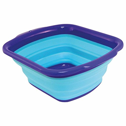 Squish Collapsible Dish Pan, Blue