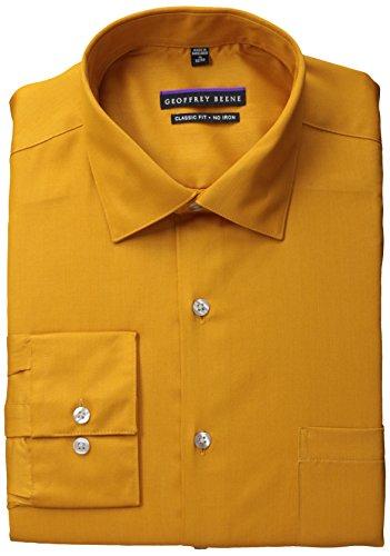 Geoffrey Beene Men's Long-Sleeve Regular-Fit Solid Shirt