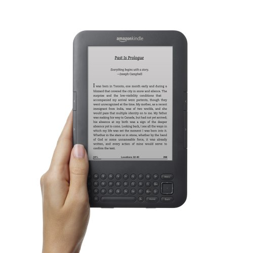 Kindle Keyboard, Wi-Fi, 6 E Ink Display