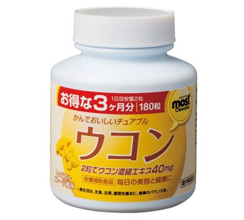 MOST chewable Turmeric(UKON) 180tabx1