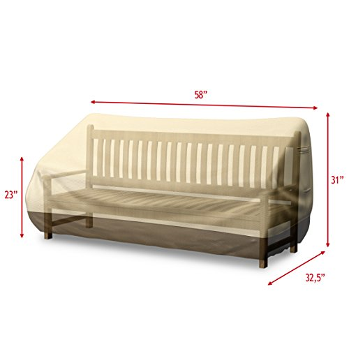 Best Bench Cover for Outdoor Loveseat or Patio Sofa