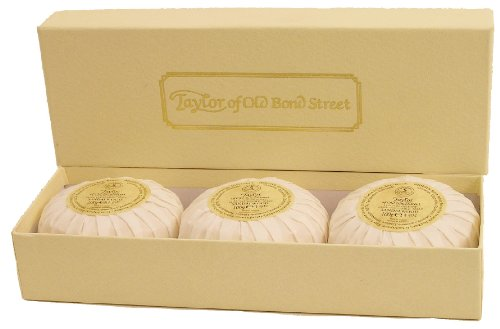 Sandalwood Hand Soaps In A Gift Box (ToBS3) From Taylors Of Old Bond Street