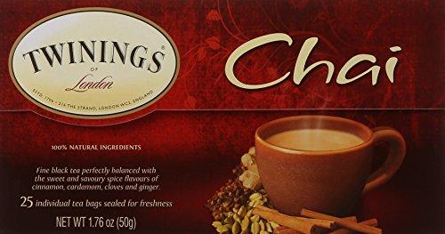 Twinings Chai Tea, 25 Count