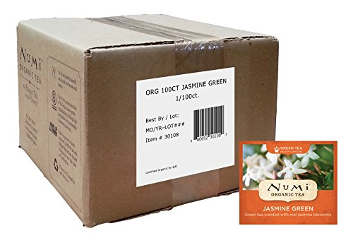 Numi Jasmine Green Tea, 100-Count