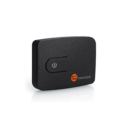 Bluetooth 4.0 Transmitter, TaoTronics Wireless 3.5mm Adapter Dongle (High-Fidelity Stereo, Plug and Play via USB or AUX Input, Charging while Playing for TV & iPod)