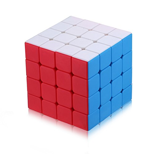 Dreampark 4X4 Speed Cube Stickerless Smooth Magic Cube Puzzles, Perfect Gift Puzzle Box for Kids - Safe for Children - 100% Satisfaction Guaranteed!