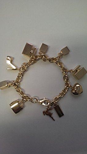 DOLCE and GABANNA D & G valentines day charm bracelet perfume,shoes,handbag,heart