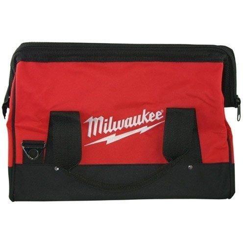 Milwaukee BAG17MIL 17-Inch Heavy Duty Canvas Tool Bag 6 Pocket