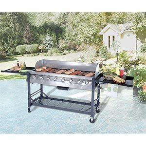 Grill Chef 8-burner Commercial/Party Propane BBQ