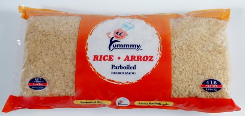 Yummmy Parboiled Rice 4 Lb., Kosher Certified