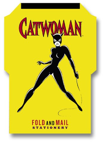 Catwoman Fold and Mail Stationery (Superheroes)