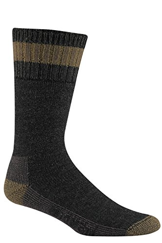 Wigwam Sub-Zero Socks Charcoal / Taupe MD 2-PACK