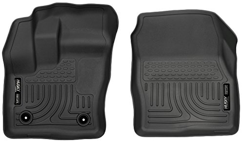 Husky Liners 2014-2015 Ford Transit Connect Weatherbeater Series Front Floor Liner - (Black)