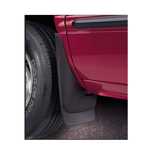 Original Style Mud Guards For Dodge ~ Ram Pickup ~ 2009-2012 ~ Black ~ 1500 Series with OEM Fender Flares, (Rear Set)
