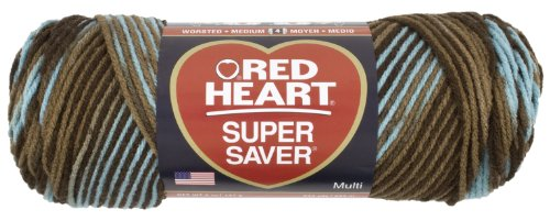Red Heart E300.0928 Super Saver Economy Yarn, Earth and Sky