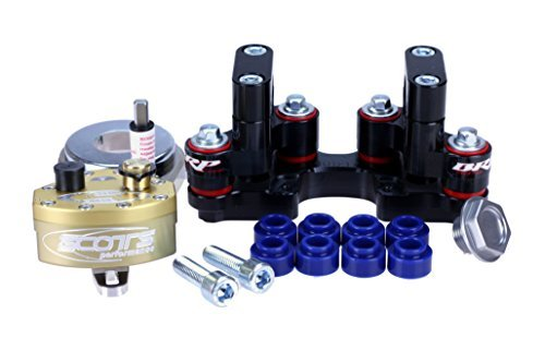 Scotts SUB Mount Rubber Steering Stabilizer Damper kit for KTM XCW, EXC