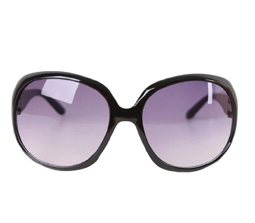 niceeshop(TM) Fashion Vintage Oversized Frame Sunglasses,Black