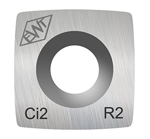 Authentic Easy Wood Tools Ci2-R2 Carbide Replacement Cutter with 2 Radius for Easy Start, Mini and Mid Midi Roughers Lathe Woodturning Tools Ci2-R2
