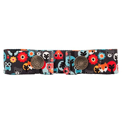 Dapper Snapper Baby & Toddler Adjustable Cinch Belts ~ Many Colors (Woodland Creatures)