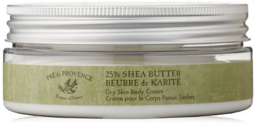 Pre De Provence Shea Butter Dry Skin Body Cream, 8 Fluid Ounce