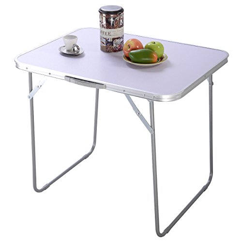 Goplus® Portable Folding Aluminum Table In/Outdoor Picnic Party Dining Camping Desk New