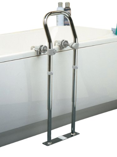 Homecraft Swedish Mkii Chrome Bath Side Rail