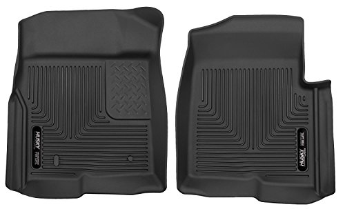 Husky Liners Custom Fit X-act Contour Molded Front Floor Liner for Select Ford F-150 Models (Black)