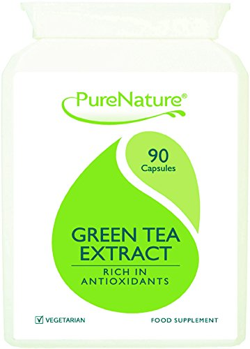 90 Green Tea 12480mg Advanced Super Strength Veggie Capsules Up To 12 Times Stronger Supports Slimming Diet Detox Cardiovascular and General Health Stronger than Matcha Tea |100% Quality Assured Money Back Guarantee| SUPER SAVER DEAL| FREE UK DELIVERY