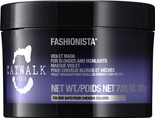 TIGI Catwalk Fashionista Mask for Blondes/Highlights, Violet, 7.05 Ounce