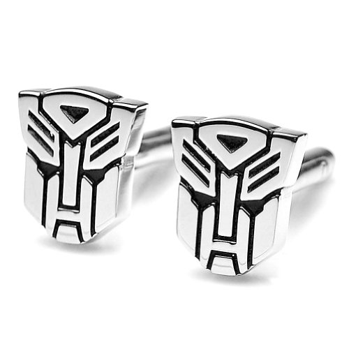 Pensee Transformer Autobot Cufflinks for Men with Gift Box