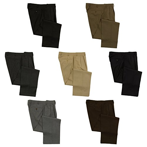 Ralph Lauren Mens Double Pleated Wool Dress Pants