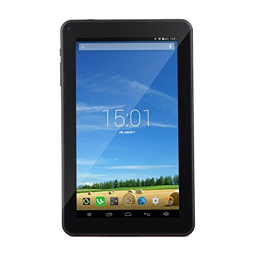 iRULU eXpro X1a 9 Inch Quad Core Tablet PC, Google Android 4.4 Kitkat, 1024*600 Resolution, 16GB Nand Flash - Black