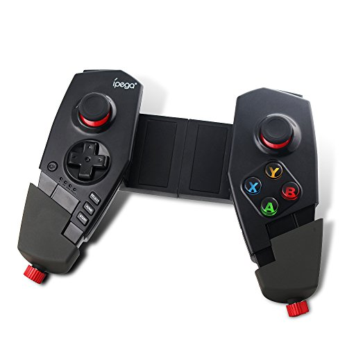 PowerLead PG-9055 Adjustable Wireless Bluetooth Game Pad Controller Gamepad Joystick For Cellphone/Tablet/PC etc