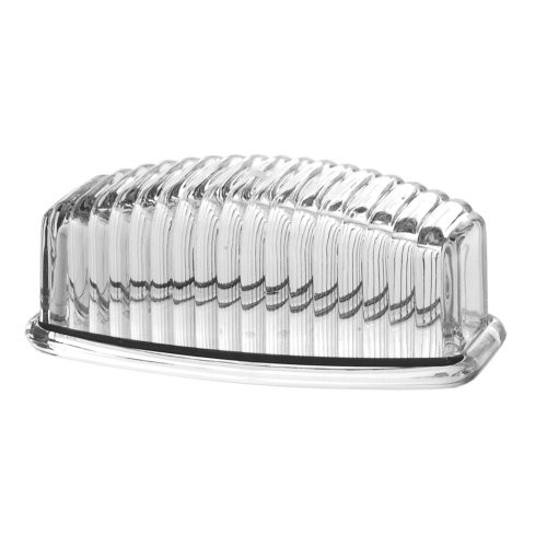 US Acrylic Beehive Butter Dish