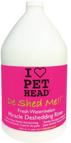 Pet Head De Shed Me Rinse 3.79 Litre