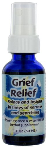 Flower Essence flourishing Formulas grief herbal supplement spray - 1 oz