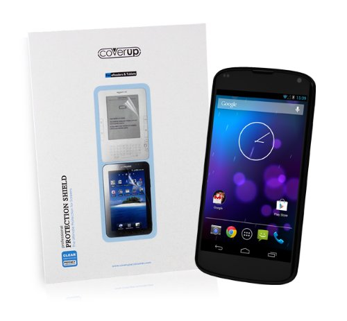 Cover-Up Google Nexus 4 (LG E960) Phone Anti-Glare Matte Screen Protector (Pack of 2)