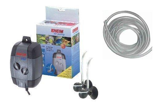 Eheim Aquarium Air Pump 400 / 3704 With Free 3 M Of Airline! Value Pack