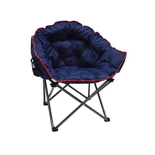 Deluxe XL Outdoor Club Chair in Navy Blue