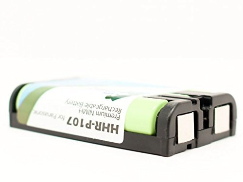 1 X Panasonic HHR-P107 Cordless Phone Battery Combo-Pack includes: 2 x BATT-107 Batteries
