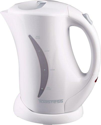 Toastess Cordless Electric Jug Kettle 1.7-Litre, White