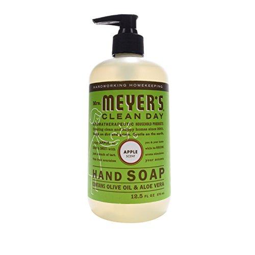 Mrs. Meyer's Clean Day Liquid Hand Soap, Apple, 12.5 Fluid Ounce