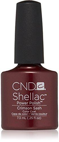CND Shellac Power Polish - Modern Folklore Collection - Crimson Sash - 0.25oz / 7.3ml