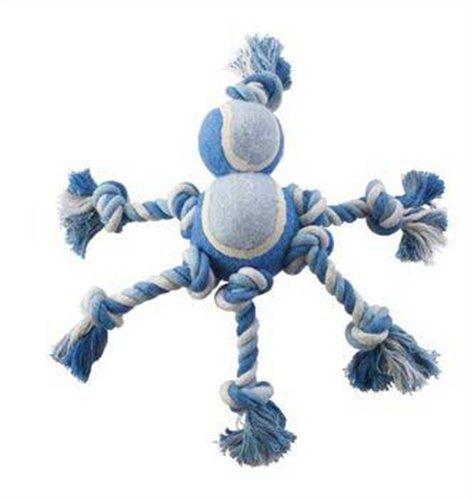 Ethical Pet Mega Twister Heavy Twist Double Tennis Man 10-Inch Dog Toy