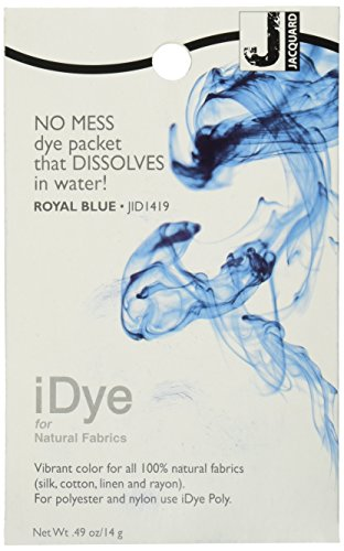 Jacquard iDye Fabric Dye 14 Grams-Royal Blue