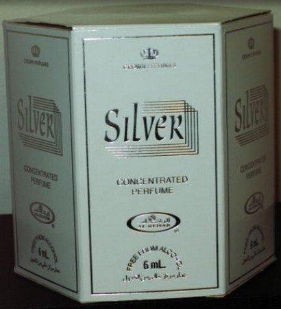 Silver Perfume Oil - 6ml by Al Rehab