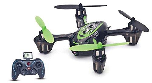 USA Toyz F180C Mini RC Quadcopter Drone with 720p HD Camera RTF 4CH 6-Axis Gyro 2.4 GHz