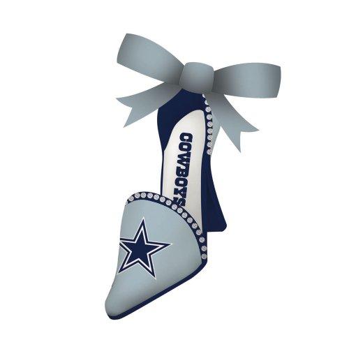 Dallas Cowboys High Heeled Shoe Ornament